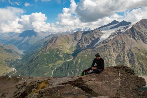 Elbrus (5642 m). Patriot's Way Exitpoint 2019.
